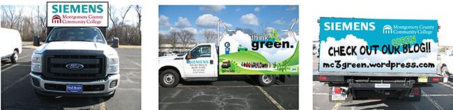 Digital rendering of 'Think Green' float